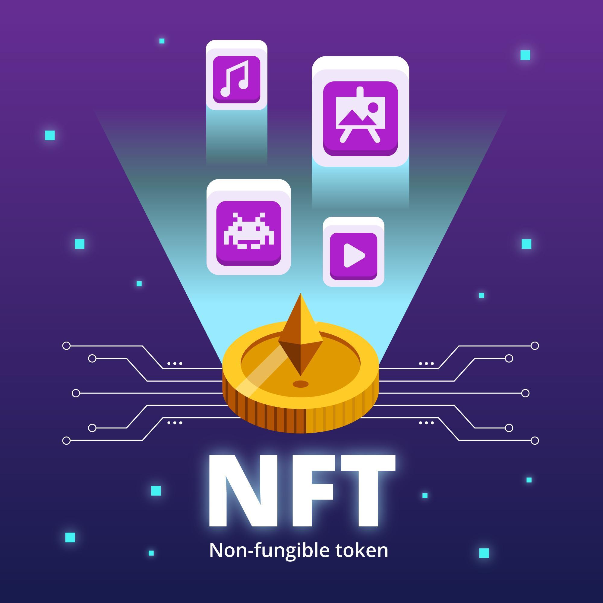 Les NFT (Non Fongible Token)